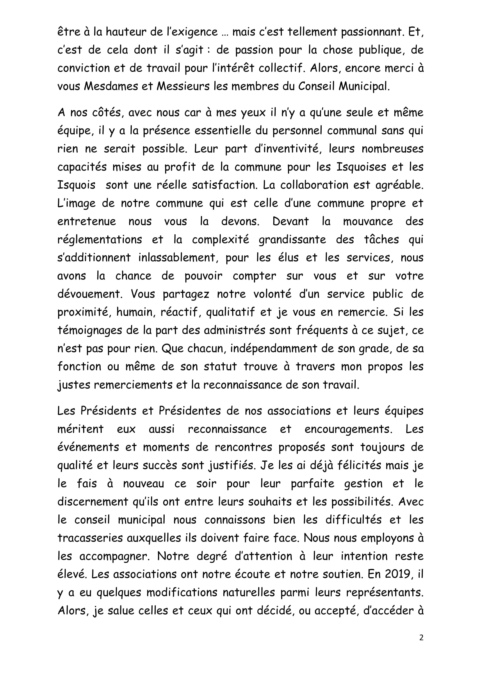 DISCOURS VOEUX du JEUDI 16 janvier 2020 site Isques-2