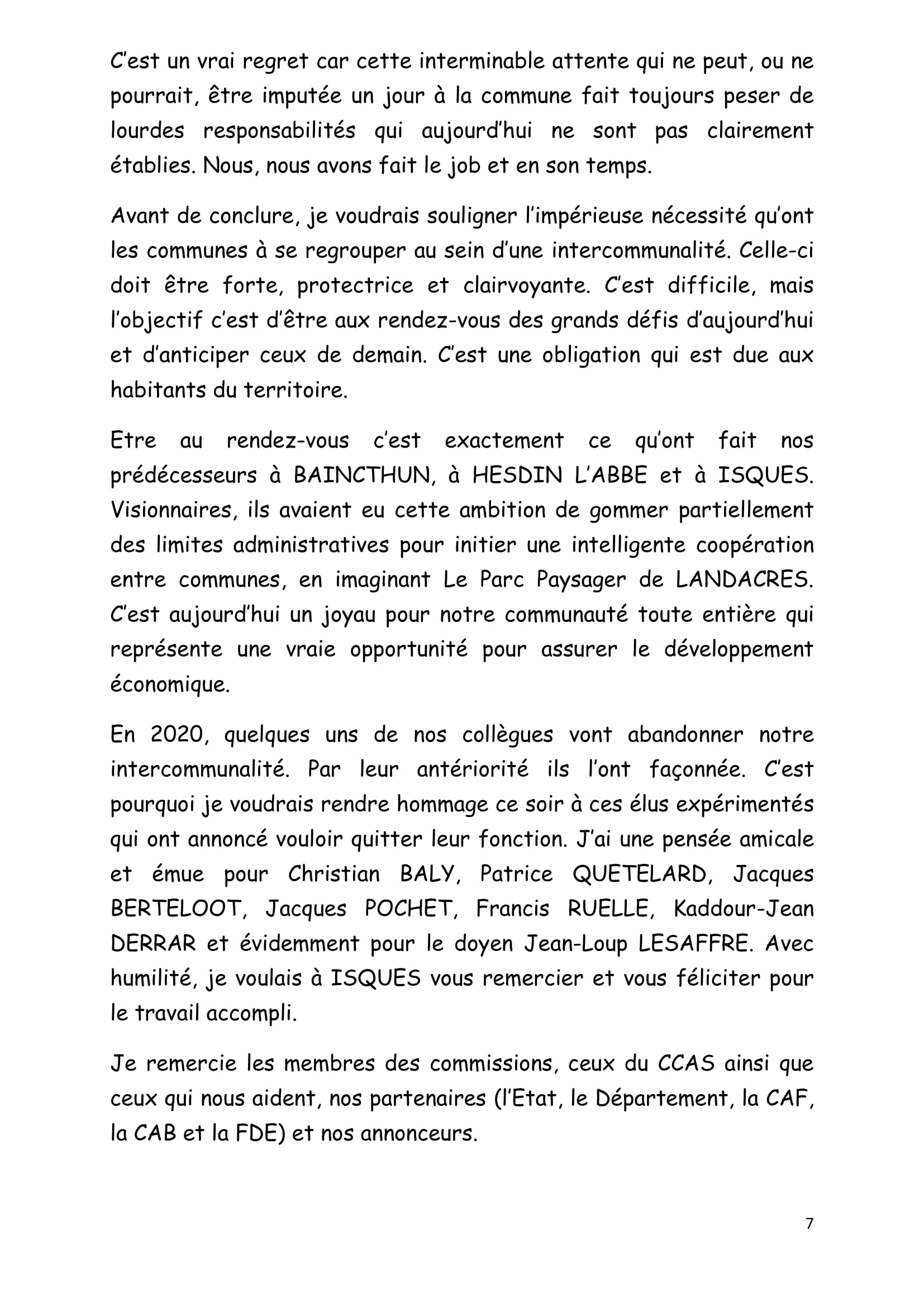 DISCOURS VOEUX du JEUDI 16 janvier 2020 site Isques-7