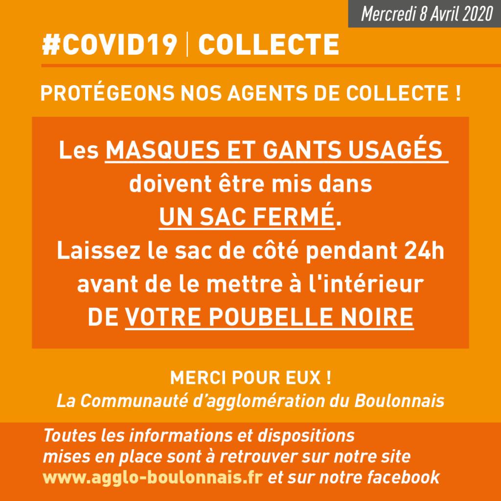 communication COVID19 COLLECTE